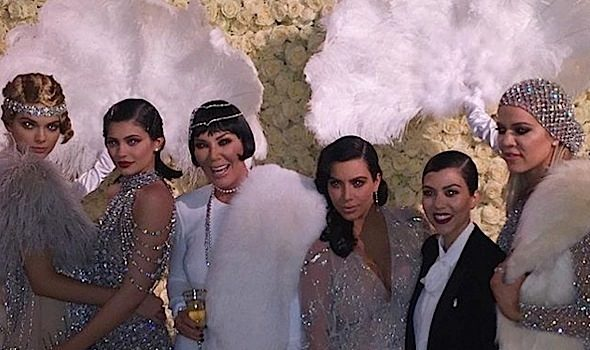 Kris Jenner Celebrates Gatsby Themed Birthday! Will Smith & Jada, John Legend, Chrissy Teigen, Tyga, Ryan Seacrest Attend [Photos]