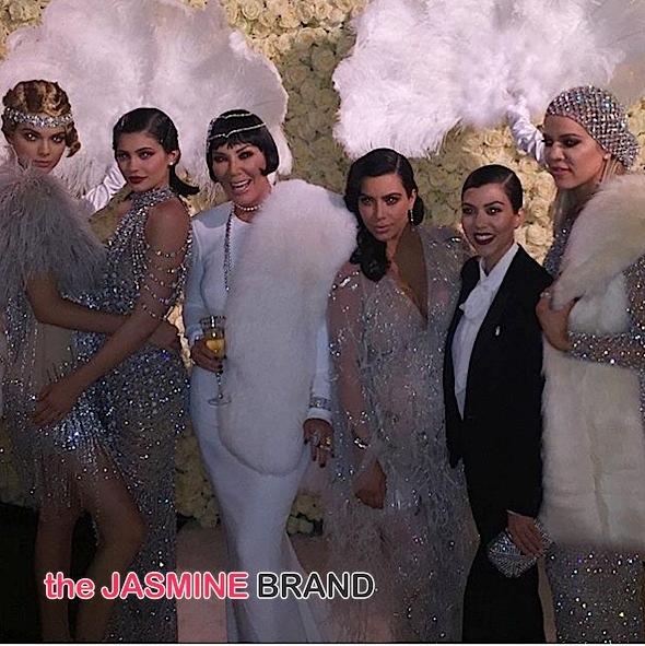 Kris Jenner Celebrates Gatsby Themed Birthday! Will Smith & Jada, John Legend, Chrissy Teigen, Tyga, Ryan Seacrest Attend [Photos]