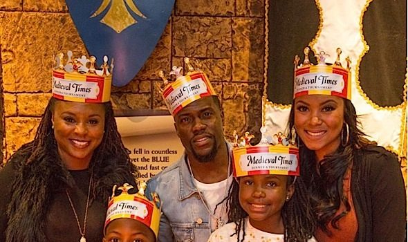 Kevin Hart's Son Celebrates Birthday at Medieval Times! [Photos]