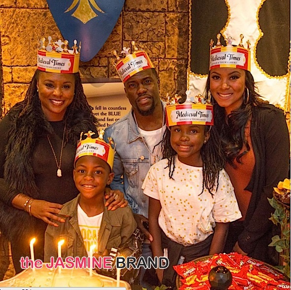 Kevin Hart's Son Celebrates Birthday at Medieval Times! [Photos]