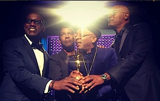 Spike Lee Receives Honorary Oscar + Denzel Washington, Samuel L. Jackson, Wesley Snipes Lend Their Support! [VIDEO]
