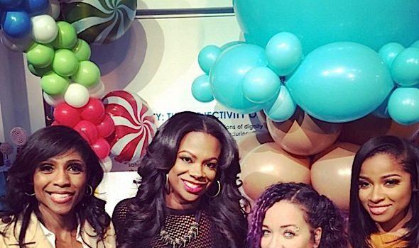 Kandi Burruss Celebrates Baby Shower: Tiny Harris, Phaedra Parks, Marlo Hampton, Toya Wright Attend [Photos]