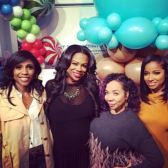 Kandi Burruss Celebrates Baby Shower: Tiny Harris, Phaedra Parks, Marlo Hampton, Toya Wright Attend [Photos]