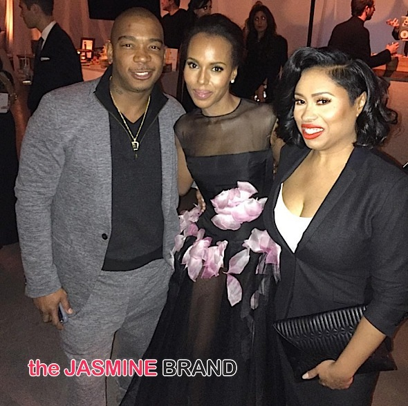 Ja Rule, Kerry Washington, Ja Rule's wife Aisha