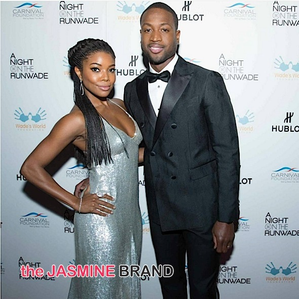 Dwyane Wade Hosts 'A Night on the RunWade': Gabrielle Union, Terrence J, Timbaland, Chris Bosh Spotted [Photos]