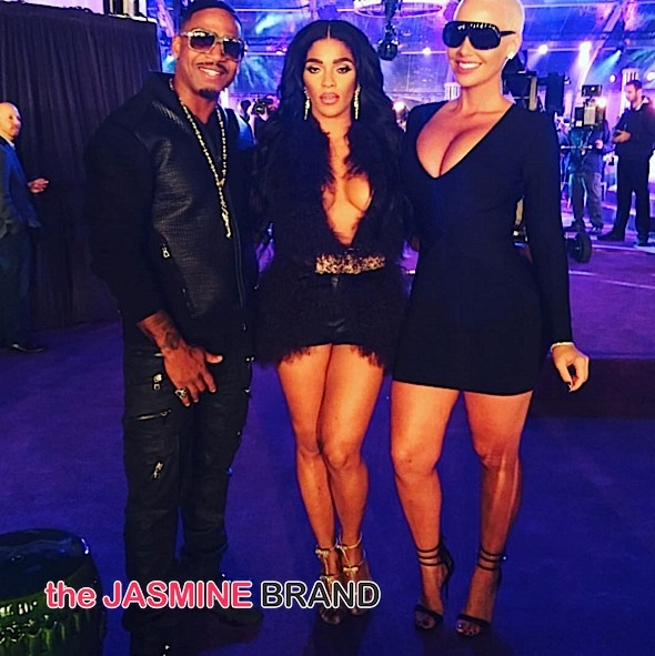 VH1's 'Big In 2015': Amber Rose, Taraji P. Henson, Stevie J, Tip, Lauren London, Meek Mill, Nicki Minaj [Photos]
