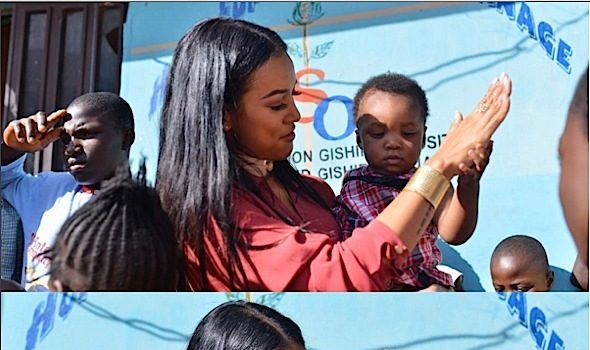 Karrueche Tran Visits Nigeria [Photos]