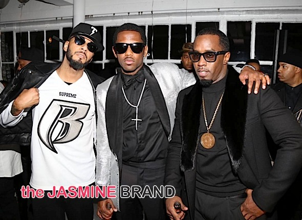 Swizz Beatz, Fab, Diddy