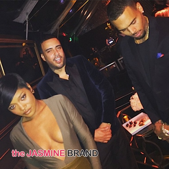 Keke Palmer, French Montana, Chris Brown