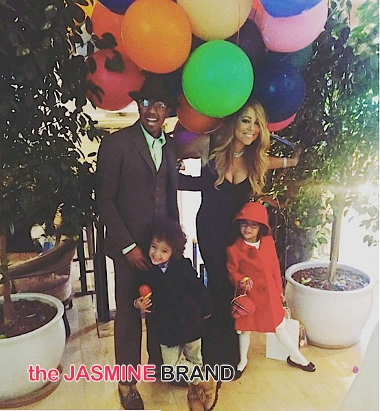 Nick Cannon, Mariah Carey & their children