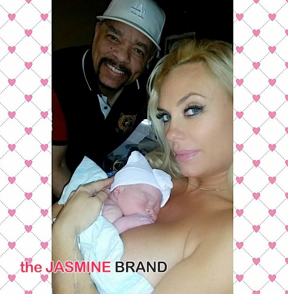 Coco & Ice-T Welcome Daughter + See Naya Rivera & Reggie Bush's Adorable Offspring [Photos]