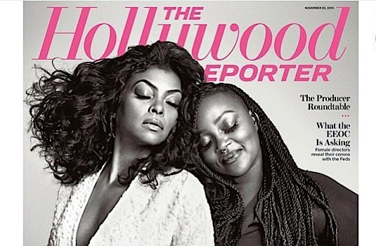 Taraji P. Henson's Make Up Artist Ashunta Sheriff Shines On THR Cover! [Photos]