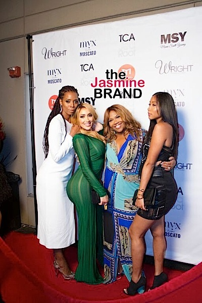 Tasha Smith, Nikki Mudarris, Mona Scott-Young, Apryl Jones