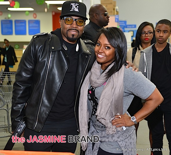 Keshia Knight-Pulliam & Teddy Riley Host Food Drive [Photos]