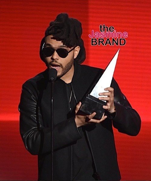 The Weeknd Wins AMA-the jasmine brand