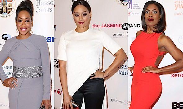 Tia Mowry Hardrict, Tichina Arnold, Omarosa, Debra Lee Attend Rhapsody Gala [Photos]