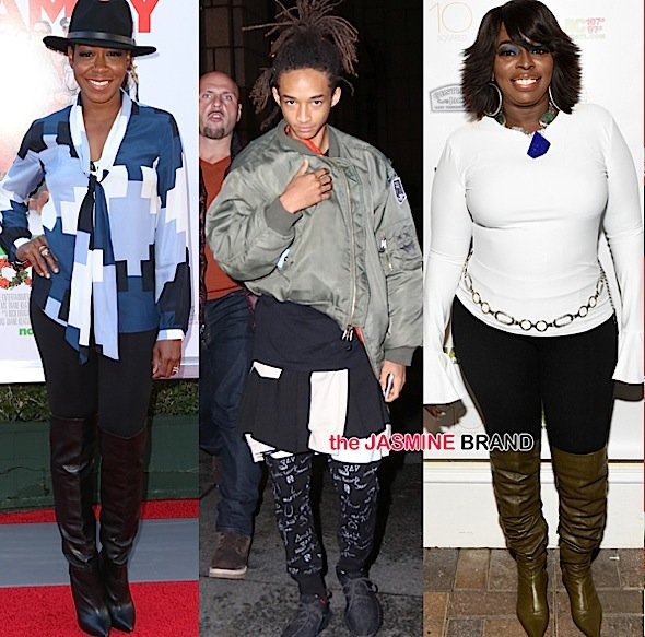 Celebrity Stalking: Angie Stone, Jaden Smith, Tichina Arnold, FKA Twigs, Grace Jones, Miles Brock, Sundy Carter [Photos]