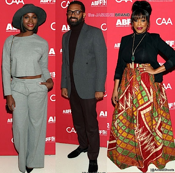 Mike Epps, Niecy Nash, Elise Neal Attend American Black Film Festival's Anniversary Party [Photos]