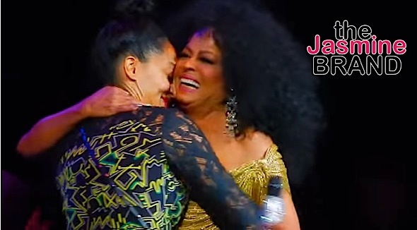 Here's What Happened When Tracee Ellis Ross Sang With Mother, Diana Ross [VIDEO]