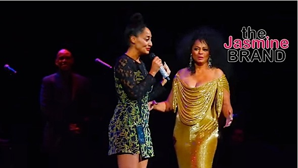 Tracee Ellis Ross-Sings With Mother Diana Ross-the jasmine brand