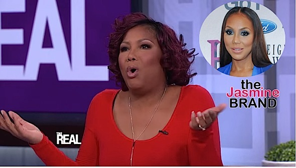Traci Braxton Denies Family Beef With Tamar Braxton! [VIDEO]