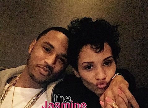 Trey Songz's Rumored Girlfriend Writes Sweet Message, Hazel-E Poses Nude + Melanie Fiona Shows Off Her Baby Bump [Photos]