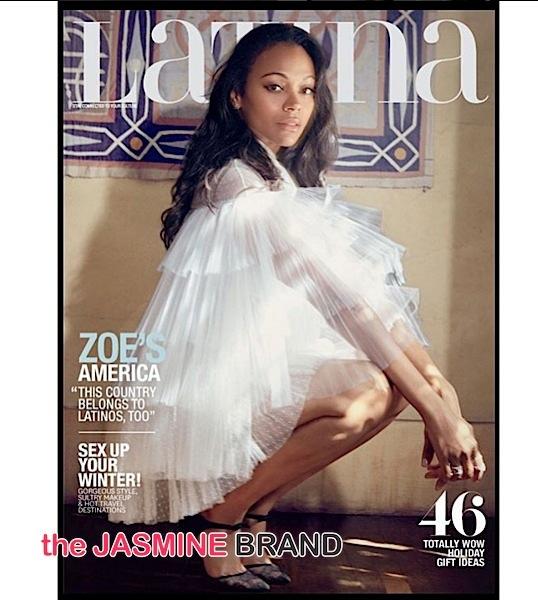 Zoe Saldana Latina-the jasmine brand