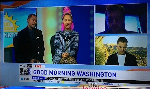 Jasmine Brand Gives AMA Predictions On 'Good Morning Washington' [VIDEO]
