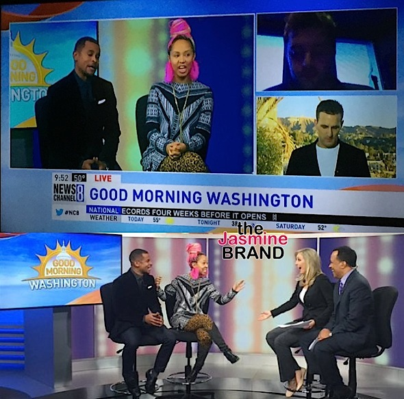 Jasmine Brand Gives AMA Predictions On 'Good Morning Washington' [VIDEO]