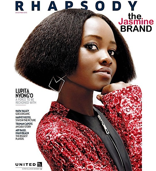 Lupita Nyong'o Snags Airline Cover