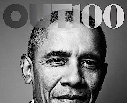 Barack Obama 1st U.S. President Photographed For LGBT Publication