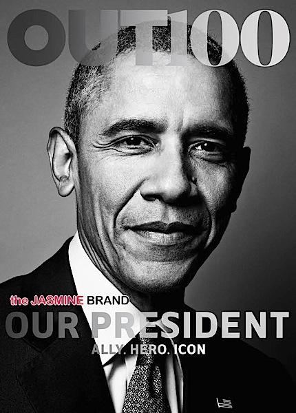 Barack Obama 1st U.S. President Photographed For LGBT Publication