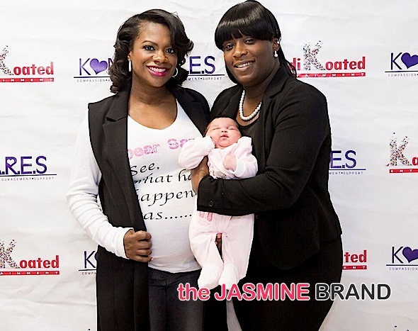Kandi Burruss Throws Baby Shower for Single Moms [Photos]