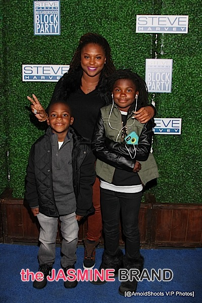 Torrei Hart & children