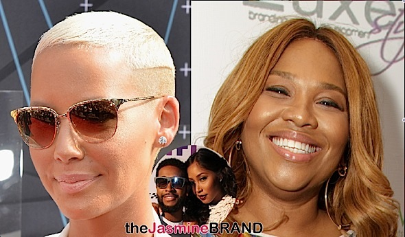 Amber Rose Partners With Mona Scott-Young + Omarion Denies Being Fired From 'Love & Hip Hop Hollywood'