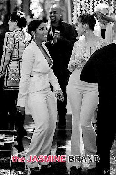 New Photos Inside Kris Jenner S Holiday Party J Lo Toni