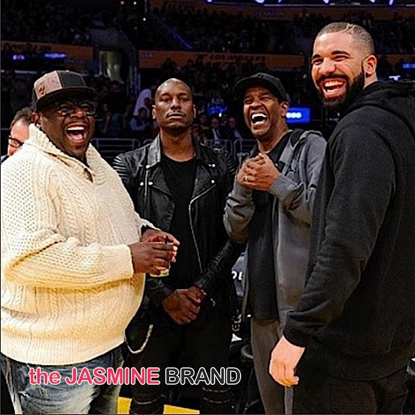 Drake Has Full Circle Moment With Denzel Washington [VIDEO]
