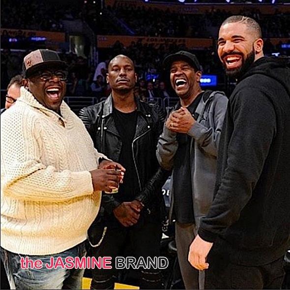 Cedric the Entertainer, Tyrese, Denzel Washington, Drake