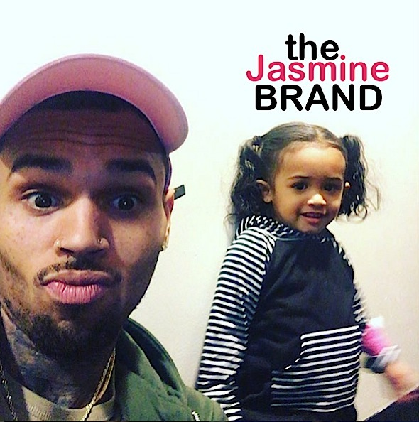 Chris Brown, daughter Royalty