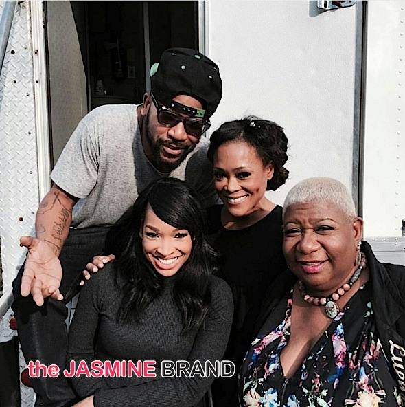 Columbus Short-Robin Givens-Luenell-Malika Haqq-Definitely Divorcing-the jasmine brand