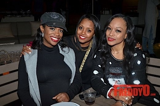 Kandi Burruss, Todd Tucker, Keshia Knight-Pulliam, Monyetta Shaw Spotted at Holiday Party [Photos]