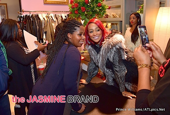 Monica Hosts 'Code Red' Signing in ATL [Photos]