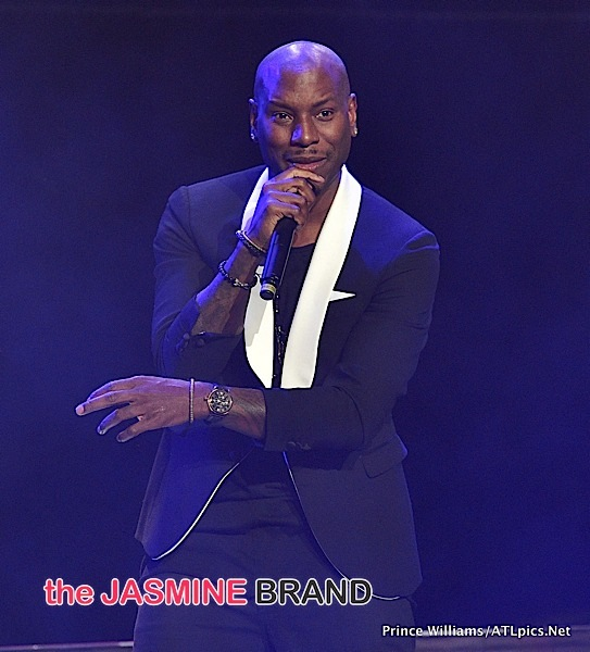 Tyrese Pushes Female Fan Who Runs On Stage