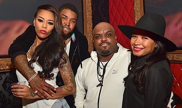 Ceelo & Fiancee, Bambi, Scrappy, Miracle Watts, Bobby V Party in ATL [Photos]