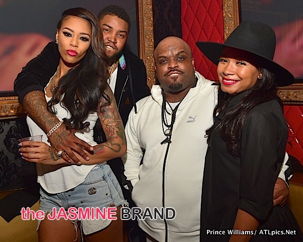 Ceelo & Fiancee, Bambi, Scrappy, Miracle Watts, Bobby V Party in ATL [Photos]