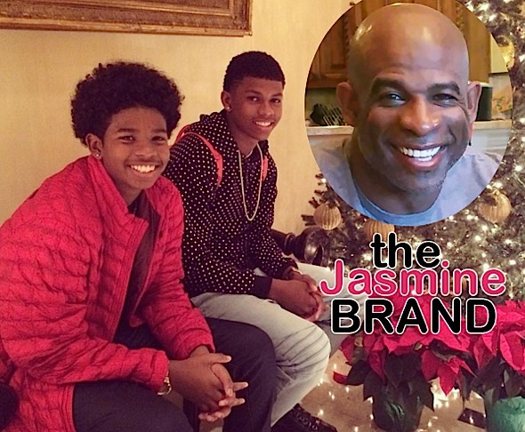 Deion Sanders Kicks Sons Out on Christmas-the jasmine brand