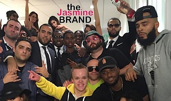 Sean 'Diddy' Combs Gives French Montana $1Million Dollar Bonus + Rapper Gives Back to Bronx Students [Photos]