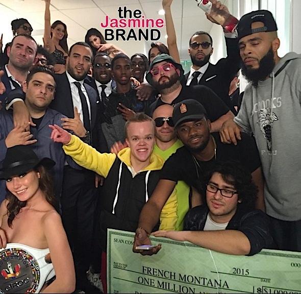 Diddy Gives French Montana 1 Million Dollar Bonus-the jasmine brand