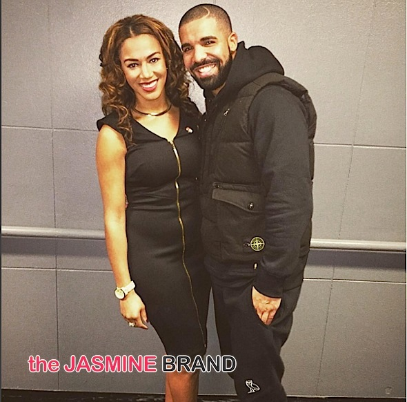 Drake-NBA Warriors Reporter-the jasmine brand