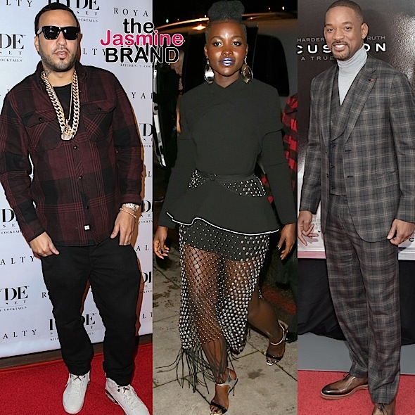 French Montana, Lupita Nyong'o, Will Smith